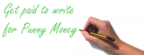 get paid to write for punny money