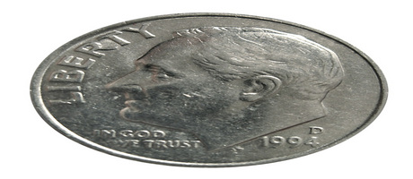 this dime has been squeezed out of the IRS