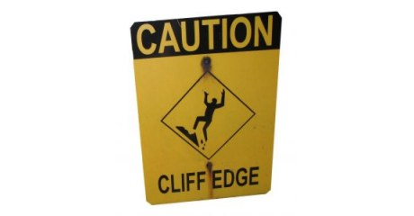 warning, no dancing to YMCA near a cliff edge