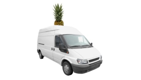 pineapple van is coming your way, pineapple van is coming today, pineapple van yay yay yay, pineapple van driven by pineapple ray