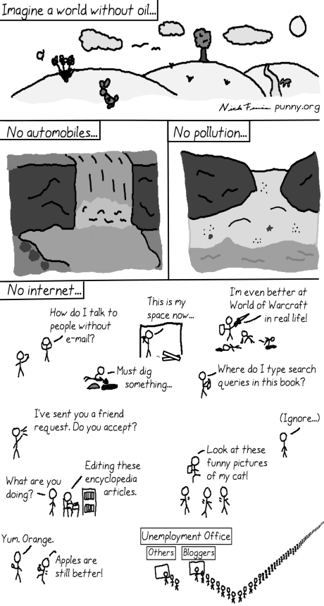 comic 21 - world without oil