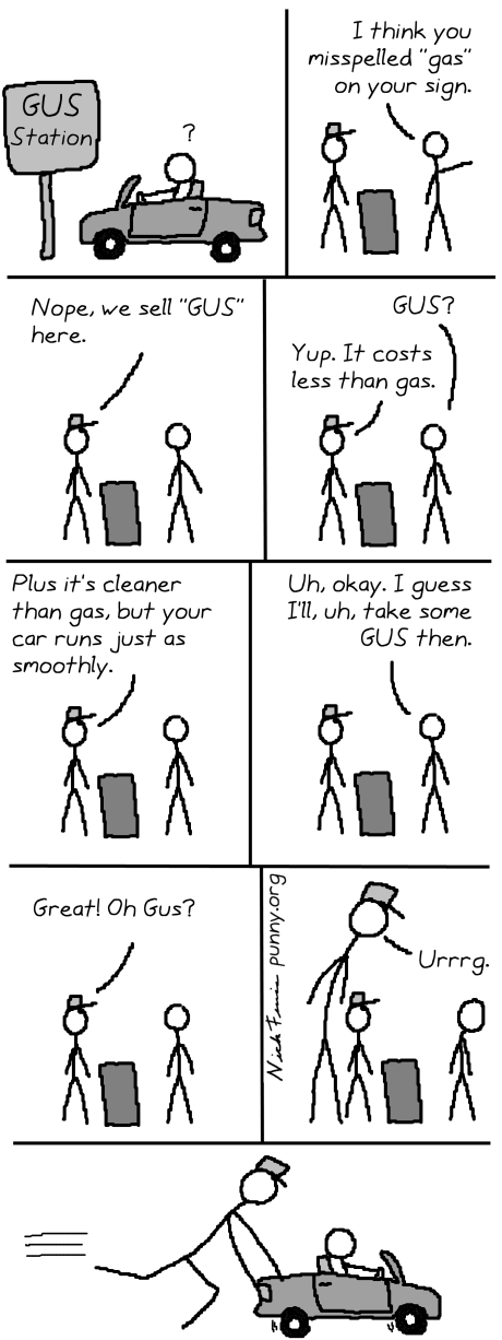 comic 42 - gus station